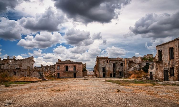 Poggioreale, oneof Sicily's ghost towns